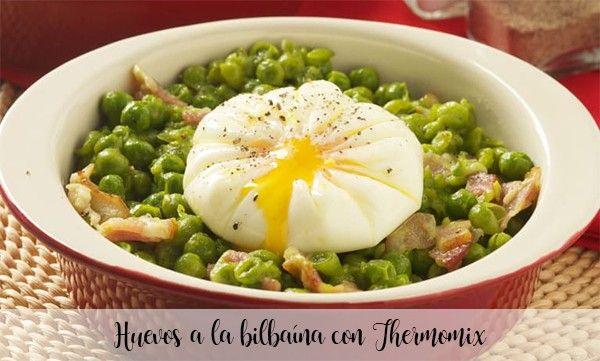 Huevos a la bilbaína con Thermomix