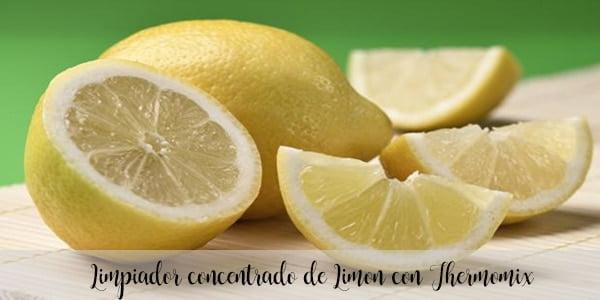 Limpiador concentrado de Limon con Thermomix