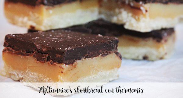Millionaire's shortbread con thermomix