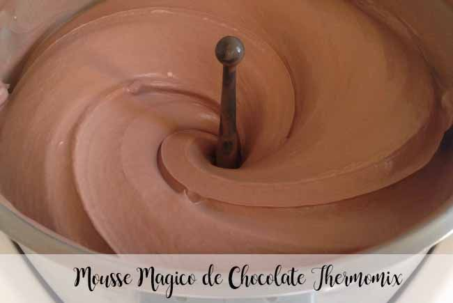 Mousse Magico de Chocolate Thermomix
