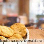 Nuggets de pollo con queso emmental con thermomix