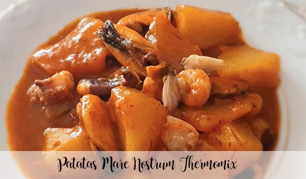 Patatas Mare Nostrum Thermomix