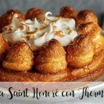 Tarta Saint Honoré con Thermomix