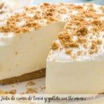 Tarta de crema de limón y galleta con thermomix