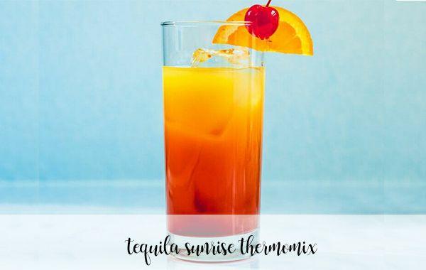Tequila Sunrise con thermomix