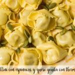 Tortellini con espinacas y queso gouda con thermomix