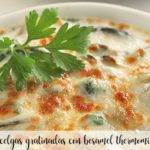Acelgas con bechamel con Thermomix