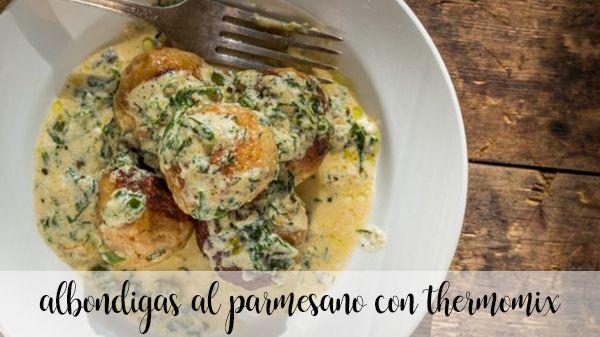 albondigas al parmesano con thermomix