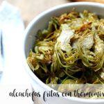 Alcachofas fritas con Thermomix