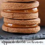 Alfajores de chocolate con Thermomix