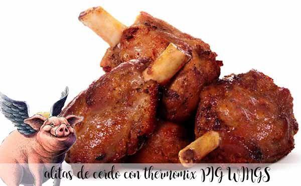 alitas de cerdo ( pig wings ) con thermomix