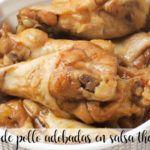 Alitas de pollo adobadas en salsa con thermomix