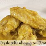 alitas de pollo al curry con thermomix