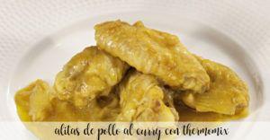 alitas de pollo al curry con thermomix