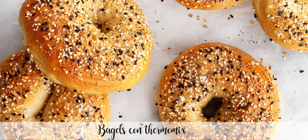 Bagels con thermomix