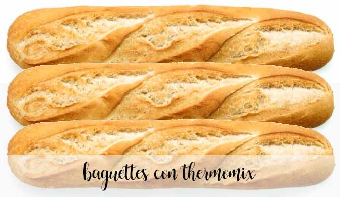 baguettes con thermomix
