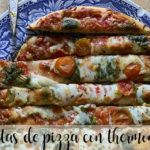 Barritas de pizza con Thermomix