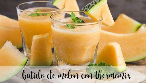 Batido de Melon con Thermomix