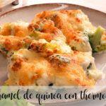 Bechamel de Quinoa con thermomix