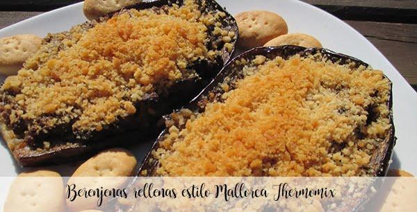 Berenjenas rellenas estilo Mallorca Thermomix