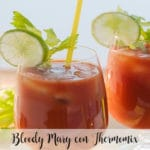 Bloody Mary con Thermomix