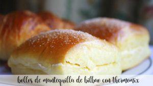 Bollos de mantequilla de Bilbao con Thermomix