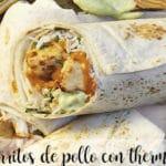 Burritos de pollo con thermomix