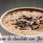 Capuccino de chocolate con Thermomix