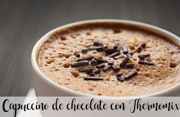 Capuccino de chocolate con Thermomix