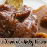Carrilleras al whisky con Thermomix