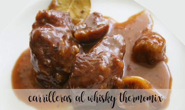 Carrilleras al whisky con Thermomix