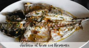 Chicharro al horno con Thermomix