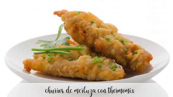 Churros de merluza con Thermomix