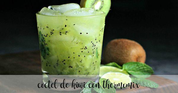 coctel de kiwi con thermomix