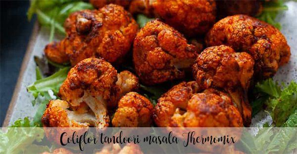 Coliflor tandoori masala Thermomix