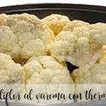 Coliflor con patatas al Varoma Thermomix