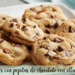 cookies con pepitas de chocolate con olla GM