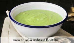 Crema de judías verdes con Thermomix