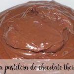 crema pastelera de chocolate con thermomix