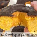 Donuts de calabaza sin gluten con Thermomix