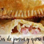 Empanadillas de jamón y queso con thermomix