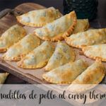 Empanadillas de pollo al curry con Thermomix