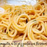espaguetis a la pizzaiola con thermomix