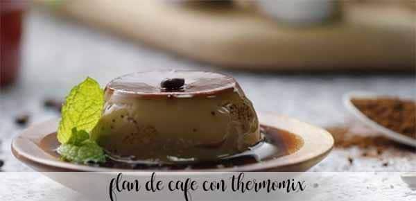 Flan de café con Thermomix
