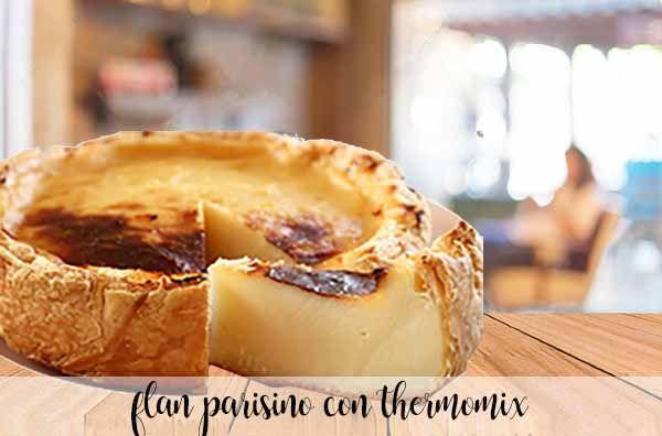 Flan Parisino con thermomix