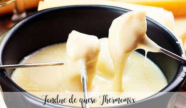 Fondue de queso Thermomix
