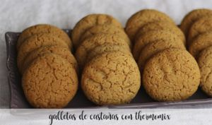 galletas de castañas con thermomix