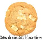Galletas de chocolate blanco con Thermomix