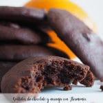 Galletas de chocolate y naranja con Thermomix