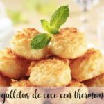 Galletas de coco con Thermomix